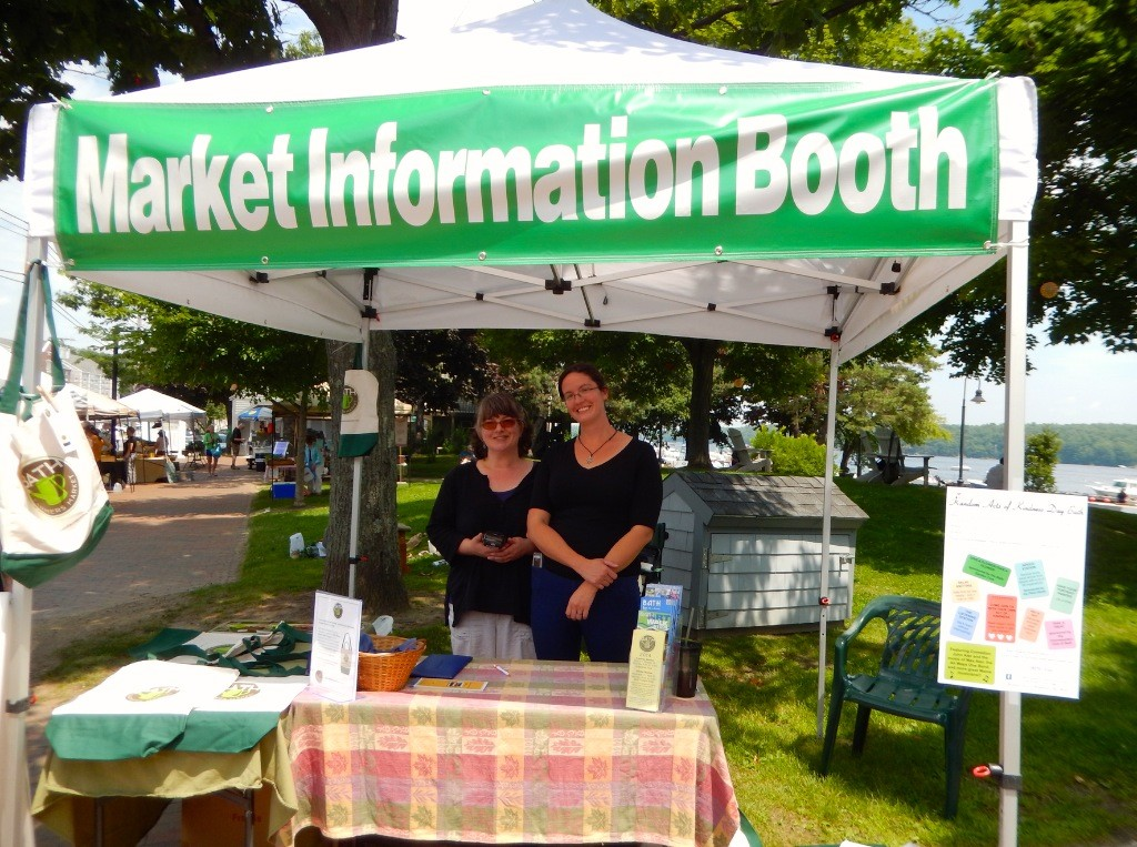 Market Information Booth