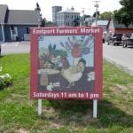 Eastport Farmers' Market Saturdays - 11:00am-1:00pm