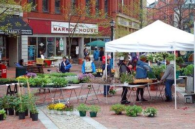 Portland Farmers' Market - Monument Square - Maine