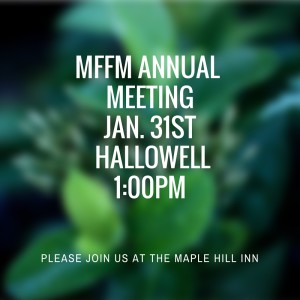 MFFM annual meeting 1.31.16