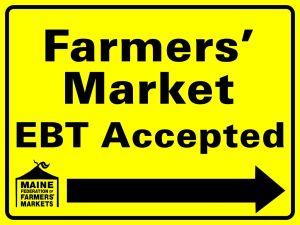 EBT Yard Sign