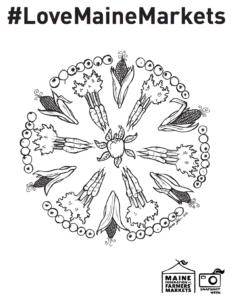 Mandala Corn