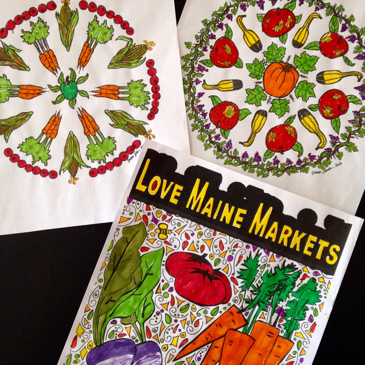 Snapshot coloring pages - sampling - Maine Federation of Farmers ...