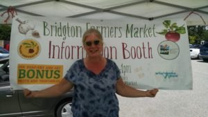 Maine Harvest Bucks SNAP bonus program at Bridgton Farmers' Market