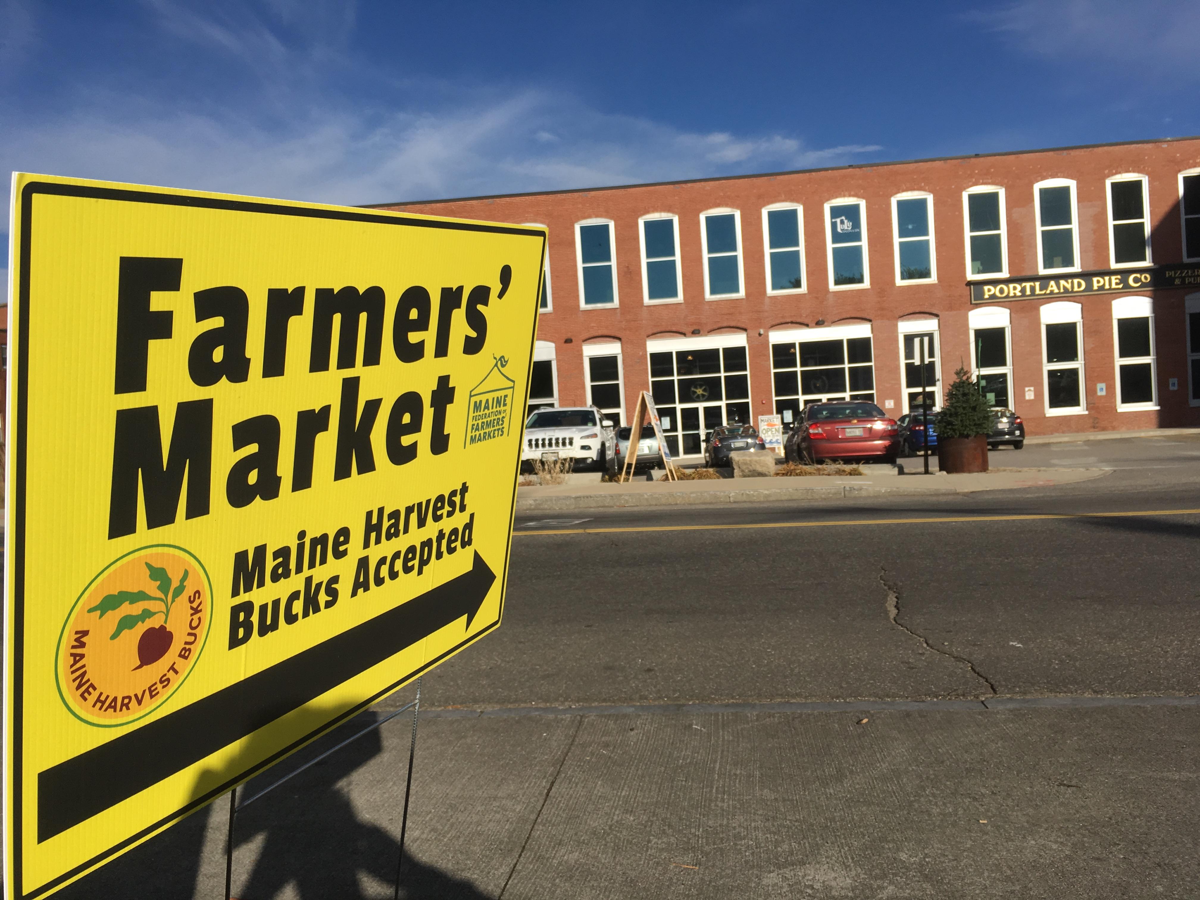Saco River Winter Market Launches Maine Harvest Bucks Maine Federation Of Farmers Markets